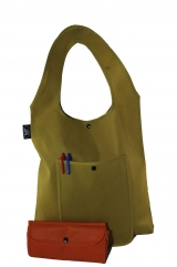 Exclusive & Unisex - foldable into pouch with front pocket